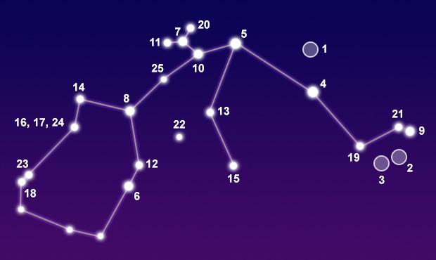 Constellation Aquarius - The Constellations on Sea and Sky