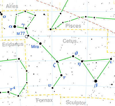 Constellation Cetus - The Constellations on Sea and Sky