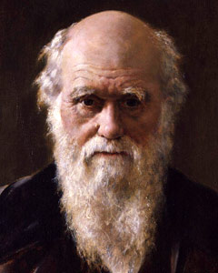 Charles darwin presented a theory of evolution that
