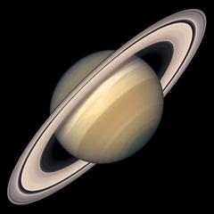 Planet saturn the solar system on sea and sky hubble high resolution photo of saturn altavistaventures Images