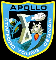 Apollo 10 Badge - Pics about space